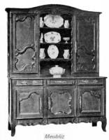 vaisselier ancien meuble rustique de nos r gions. Black Bedroom Furniture Sets. Home Design Ideas