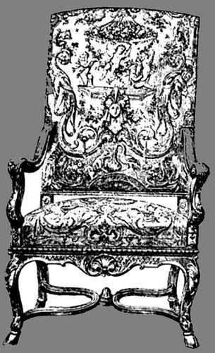 Style Louis XIV - Fauteuil louis xiv