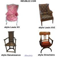 Les styles et courants dans les arts le meuble et l Differents styles de meubles
