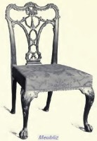 Style Anglais Chippendale 1754 1770