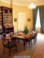 Les styles anglais des meubles en acajou et des formes - Salon en anglais ...