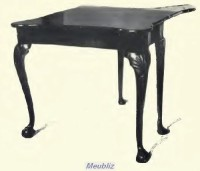 Style anglais queen anne 1702 1714 for Pied de table en anglais