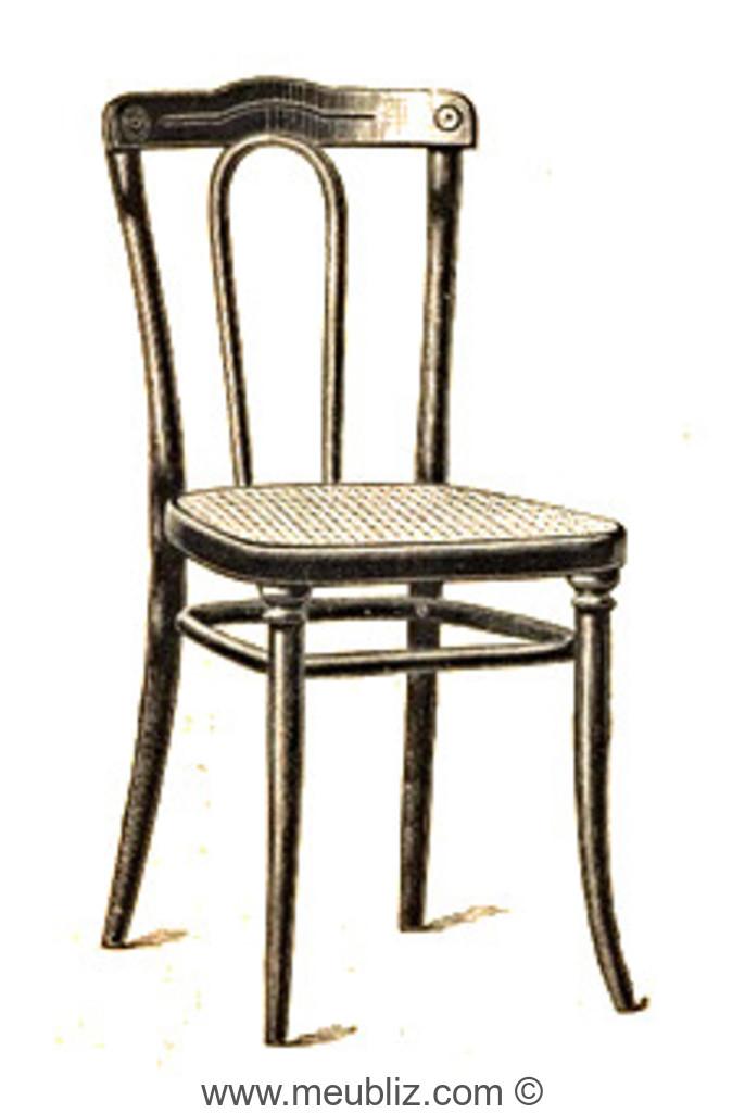 chaise n 103 par michael thonet. Black Bedroom Furniture Sets. Home Design Ideas