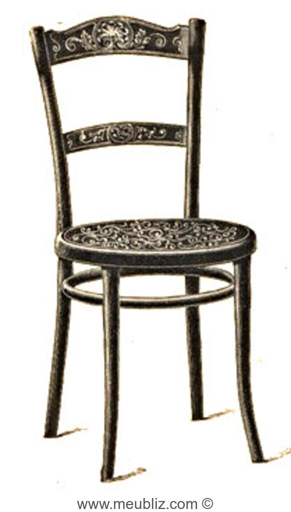 Chaise N96 14 De Thonet