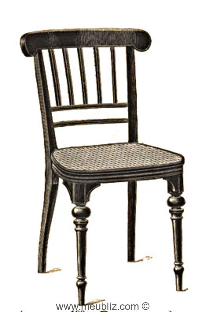 chaise n 199 par michael thonet. Black Bedroom Furniture Sets. Home Design Ideas
