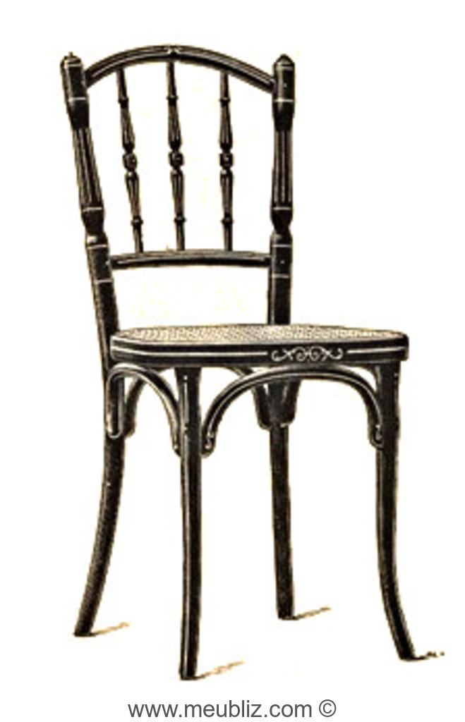 chaise n 231 par michael thonet. Black Bedroom Furniture Sets. Home Design Ideas