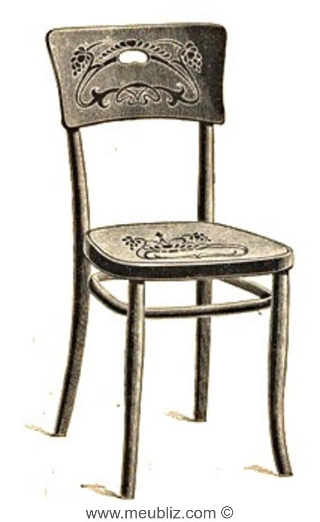 chaise n 257a par michael thonet. Black Bedroom Furniture Sets. Home Design Ideas