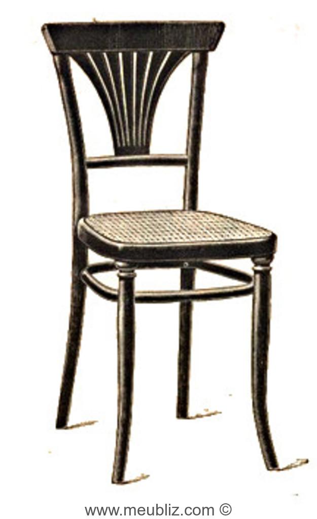 chaise n 221 et demi par michael thonet. Black Bedroom Furniture Sets. Home Design Ideas