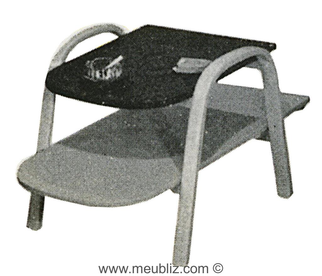 table basse bow wood deux tablettes meuble design. Black Bedroom Furniture Sets. Home Design Ideas