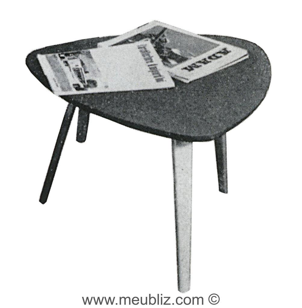 table basse bow wood cu meuble design. Black Bedroom Furniture Sets. Home Design Ideas