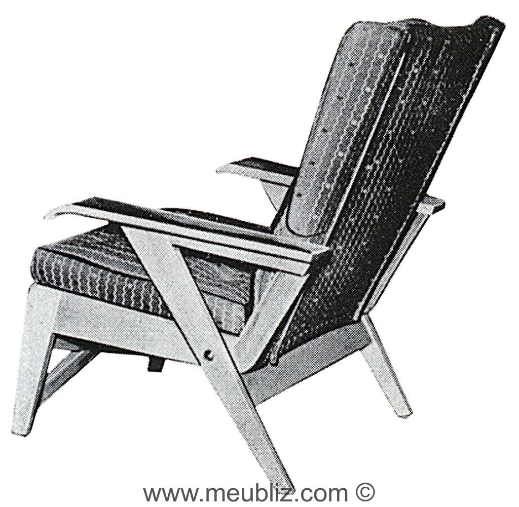 fauteuil bridge fs143 meuble design. Black Bedroom Furniture Sets. Home Design Ideas