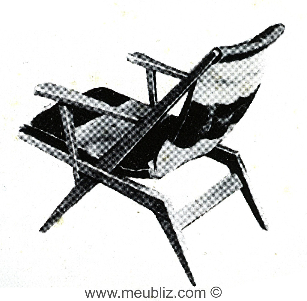 fauteuil fs100 meuble design. Black Bedroom Furniture Sets. Home Design Ideas