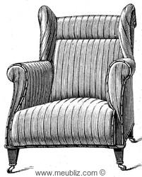 fauteuil club meubles de style et mobilier ancien. Black Bedroom Furniture Sets. Home Design Ideas