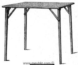 table pliante catalogue des tables pliantes et quartetto tables. Black Bedroom Furniture Sets. Home Design Ideas