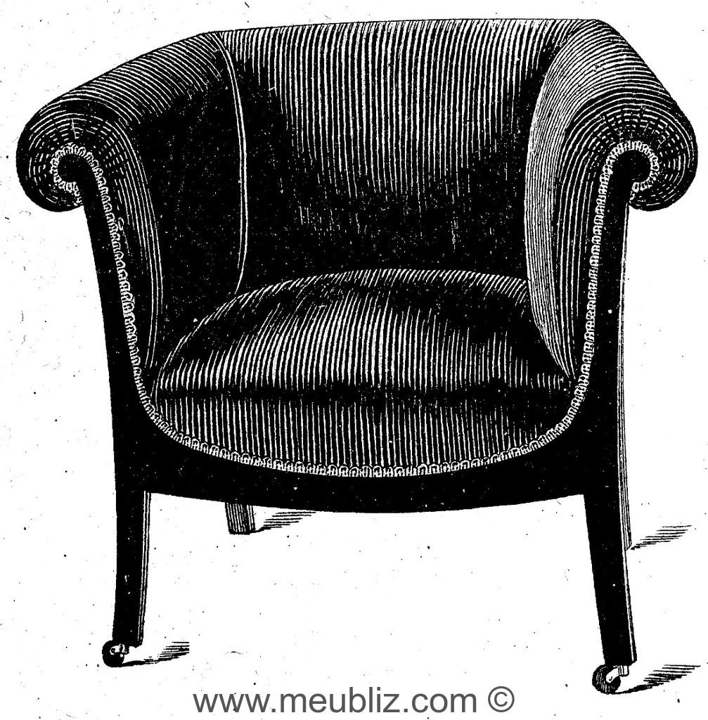 fauteuil patrick meuble de style. Black Bedroom Furniture Sets. Home Design Ideas