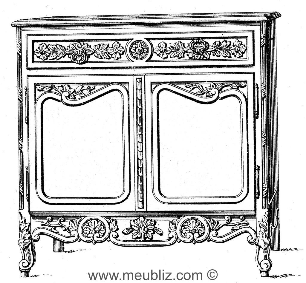 buffet normand meuble de style. Black Bedroom Furniture Sets. Home Design Ideas