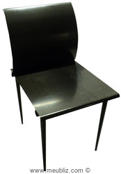 Chaise Carbone, collection Pi de Martin Szekely