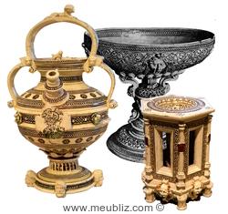 Les objets en faïence de Saint-Porchaire 411ebd226e06