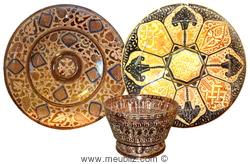 check out faec4 997ea Les objets en faïence hispano-mauresque