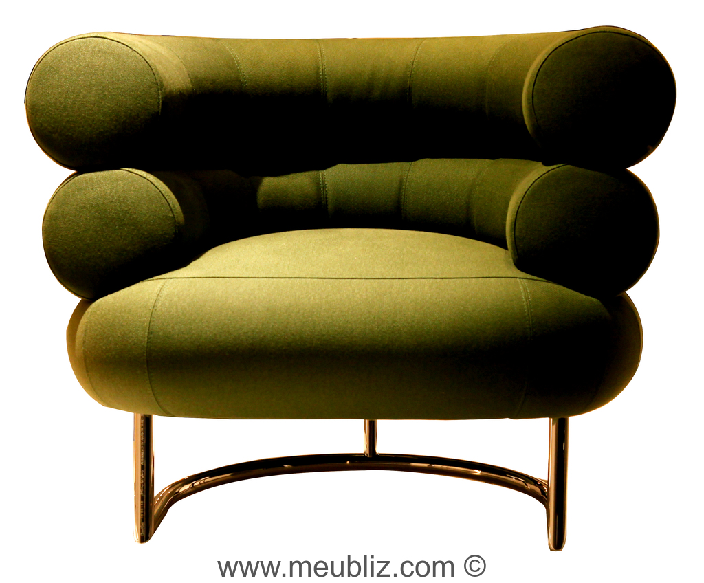 fauteuil bibendum par eileen gray meuble design. Black Bedroom Furniture Sets. Home Design Ideas