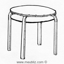 table n°70 de Alvar Aalto