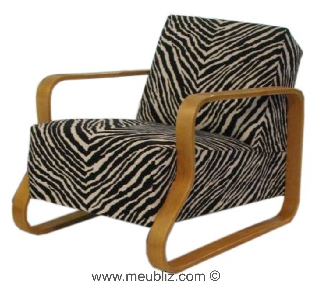 fauteuil n 44 par alvar aalto meuble design. Black Bedroom Furniture Sets. Home Design Ideas