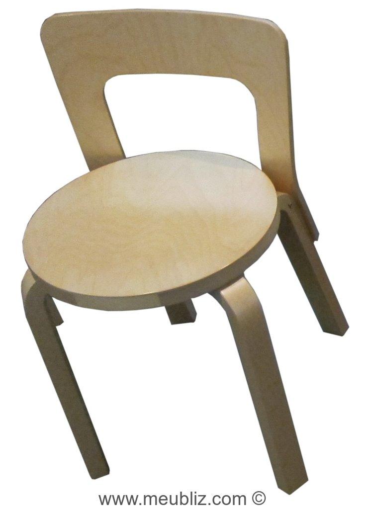 Chaise N65 De Alvar Aalto