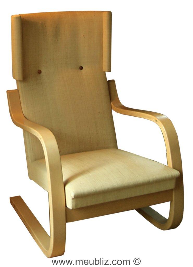 fauteuil luge n 36 et 401 par alvar aalto meuble design. Black Bedroom Furniture Sets. Home Design Ideas