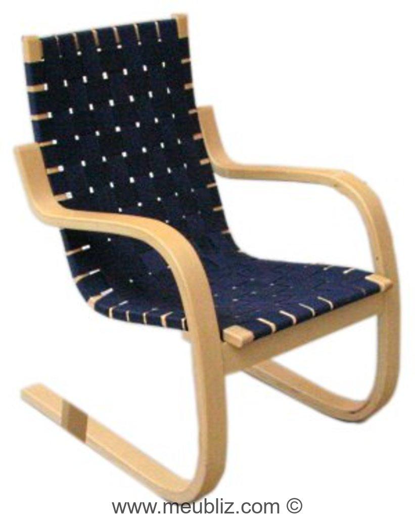 fauteuil n 33 et 406 par alvar aalto meuble design. Black Bedroom Furniture Sets. Home Design Ideas