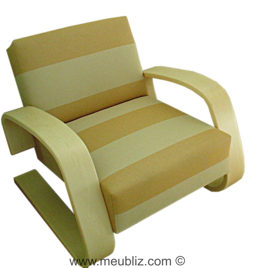 fauteuil tank n 37 et 400 par alvar aalto meuble design. Black Bedroom Furniture Sets. Home Design Ideas