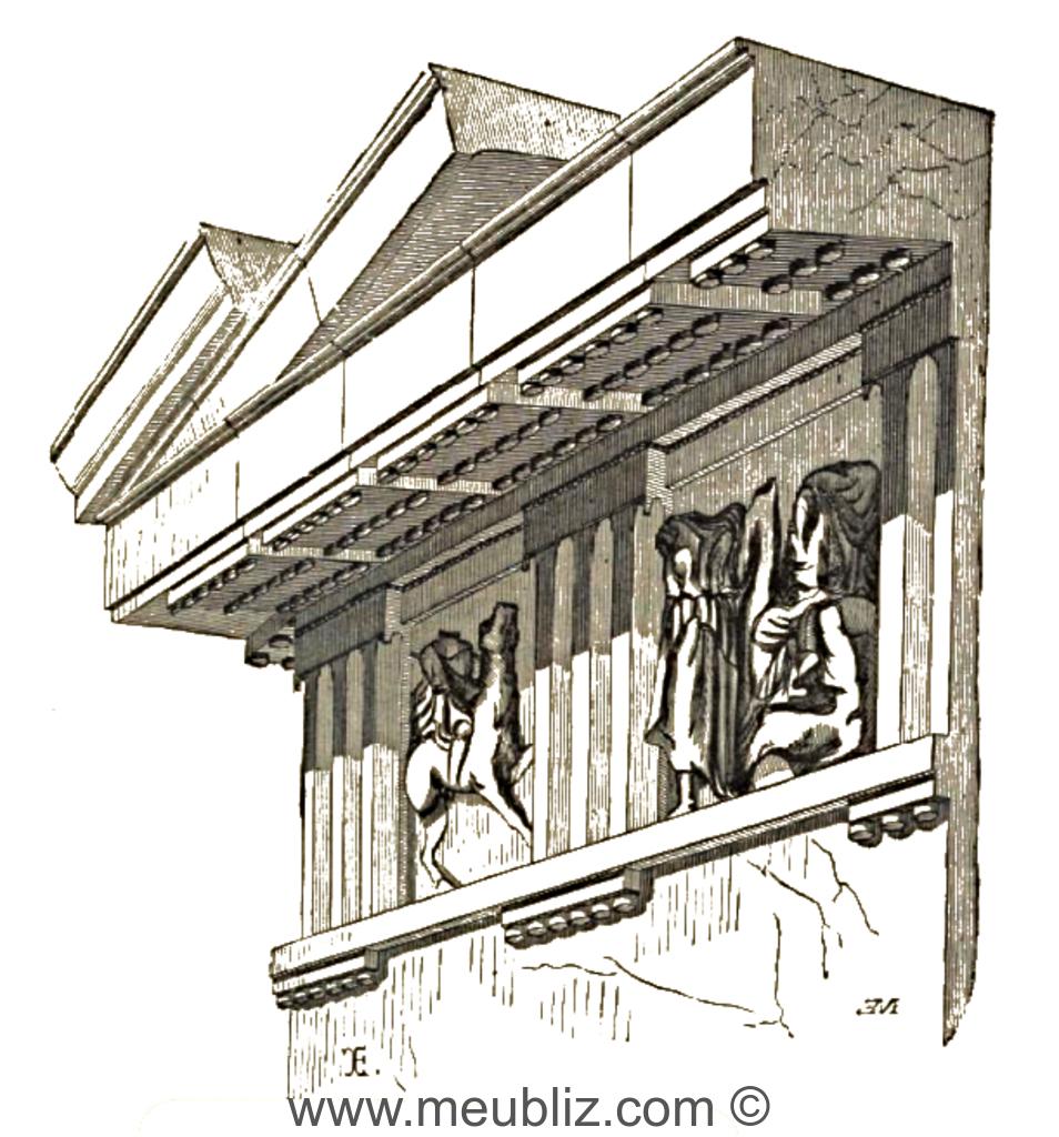 D finition d 39 un larmier for Architecture classique definition