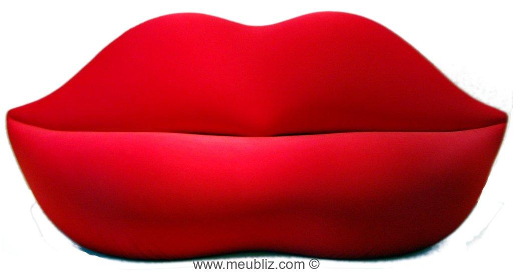 Canap boca marilyn par studio 65 meuble design - Meuble marilyn monroe ...