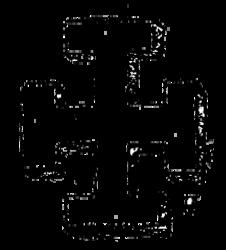 Une croix ansée
