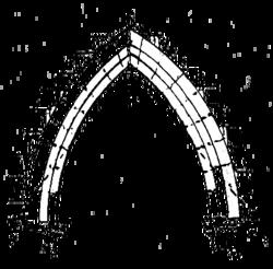 D finition de l 39 ogive lancette for Definition art gothique