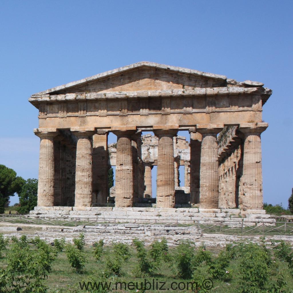 Les ordres classiques de l 39 architecture antique dorique for Architecture grec