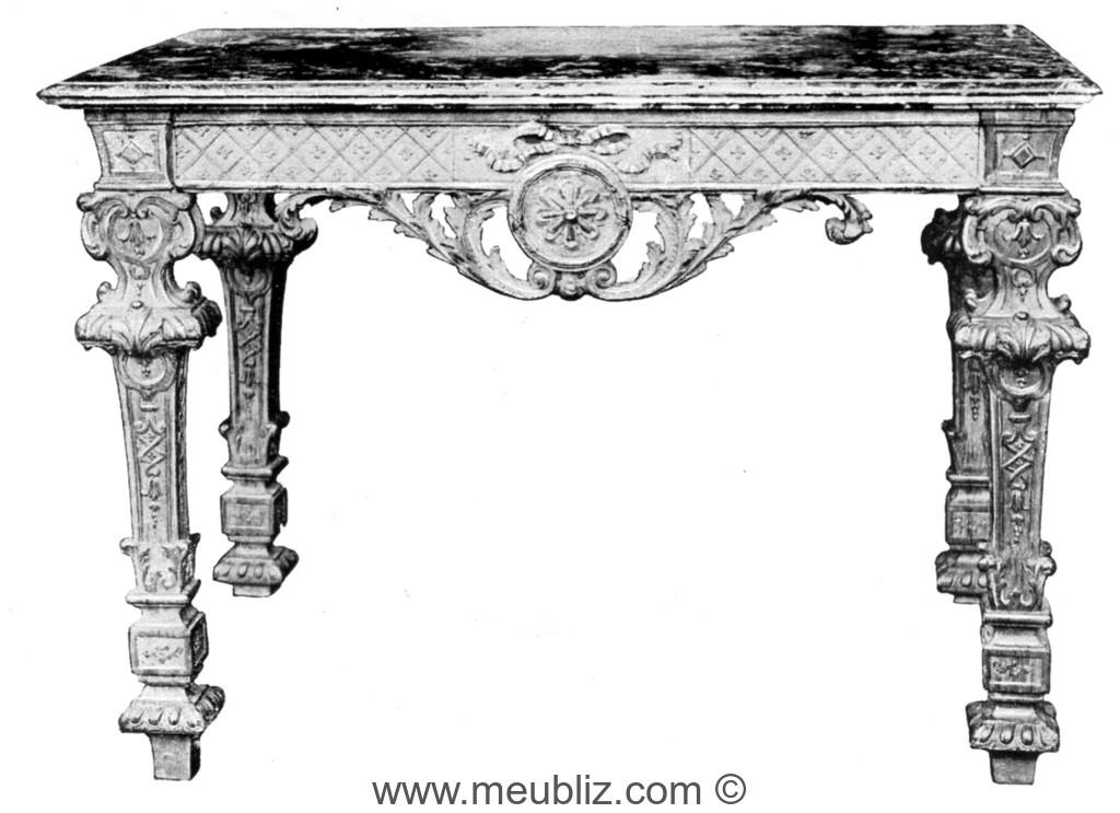 Art de la table louis xiv