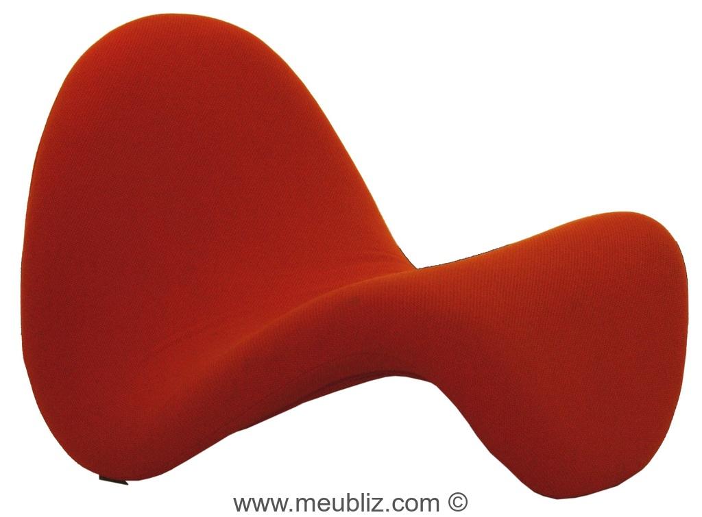 chaise longue tongue mod le 577 par pierre paulin meuble design. Black Bedroom Furniture Sets. Home Design Ideas