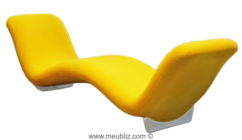 chaise longue face face par pierre paulin meuble design. Black Bedroom Furniture Sets. Home Design Ideas