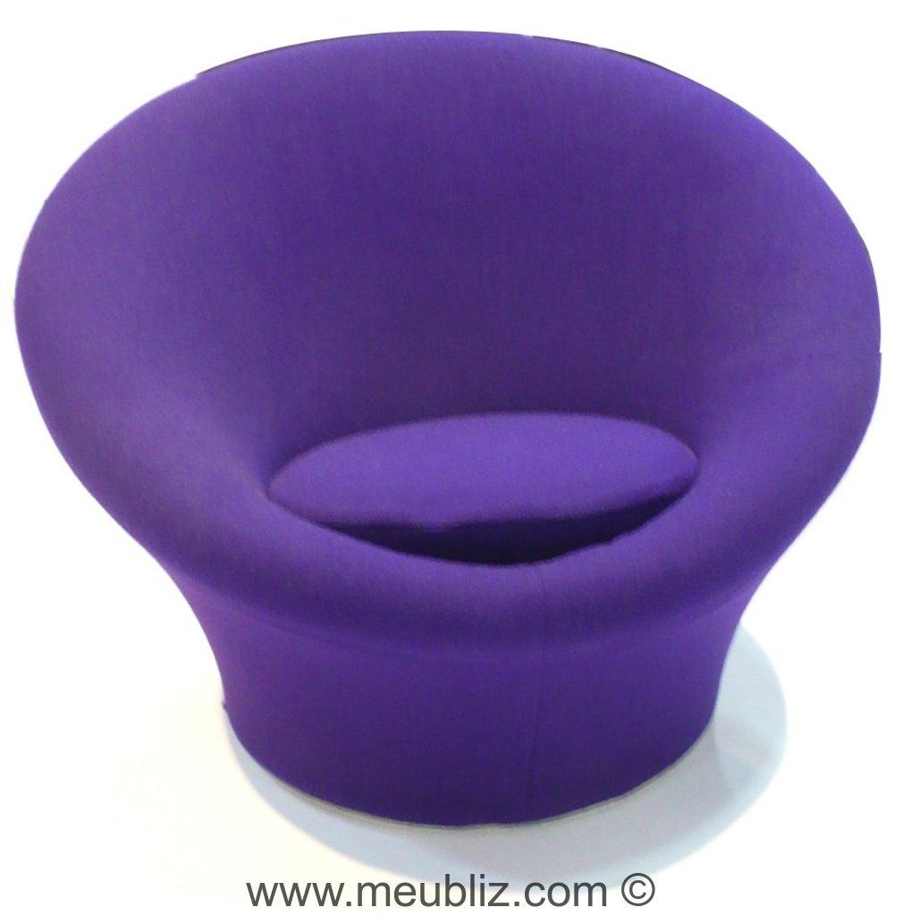 fauteuil mushroom f560 par pierre paulin meuble design. Black Bedroom Furniture Sets. Home Design Ideas