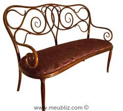 canap n 4 par michael thonet. Black Bedroom Furniture Sets. Home Design Ideas
