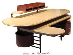 Chaise barrel id al pour meubler une salle manger for Meuble johnson