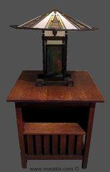 Table de chevet de Frank Lloyd Wright