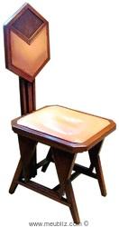 fauteuil de bureau pour s c johnson son par frank lloyd wright meuble design. Black Bedroom Furniture Sets. Home Design Ideas
