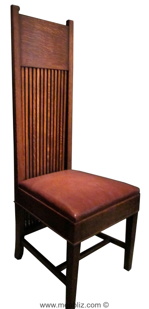 chaise robie par frank lloyd wright meuble design. Black Bedroom Furniture Sets. Home Design Ideas