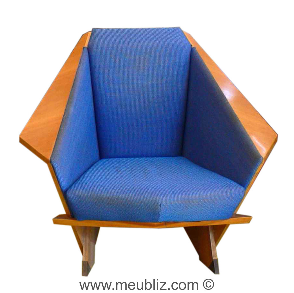 Fauteuil origami taliesin west par frank lloyd wright for Chaise origami
