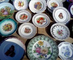 assiettes céramiques