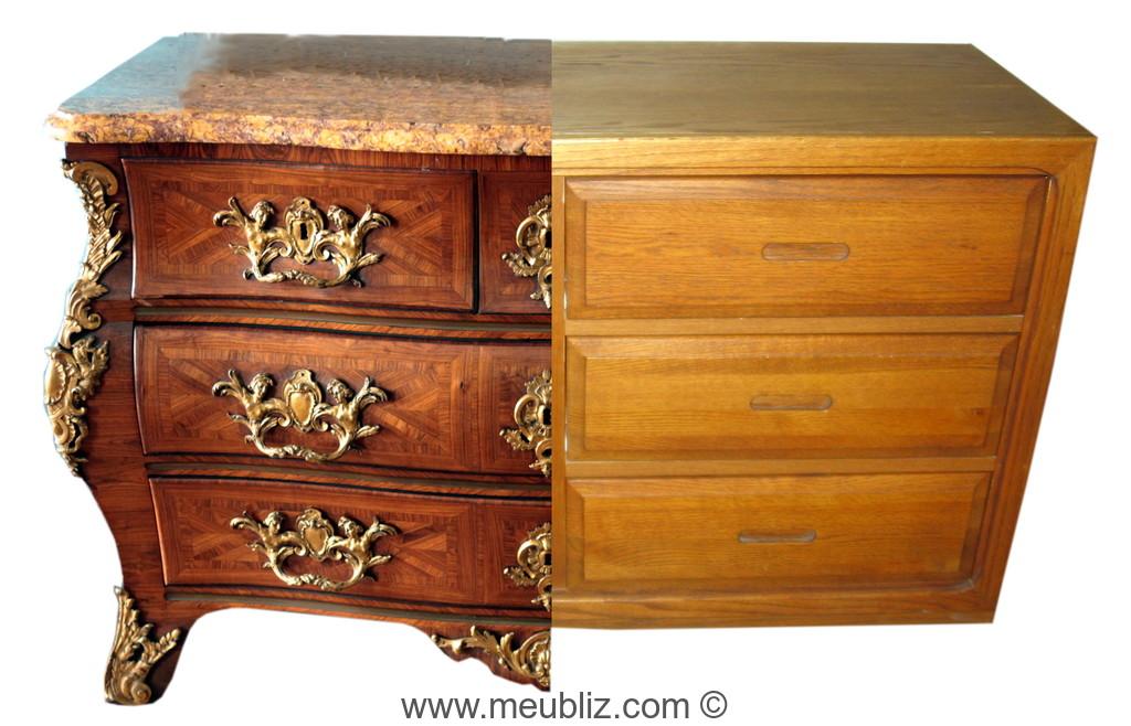 Conseils pour reconna tre soi m me un meuble ancien authentique ou copie r cente devenez un - Meuble confiturier ancien ...