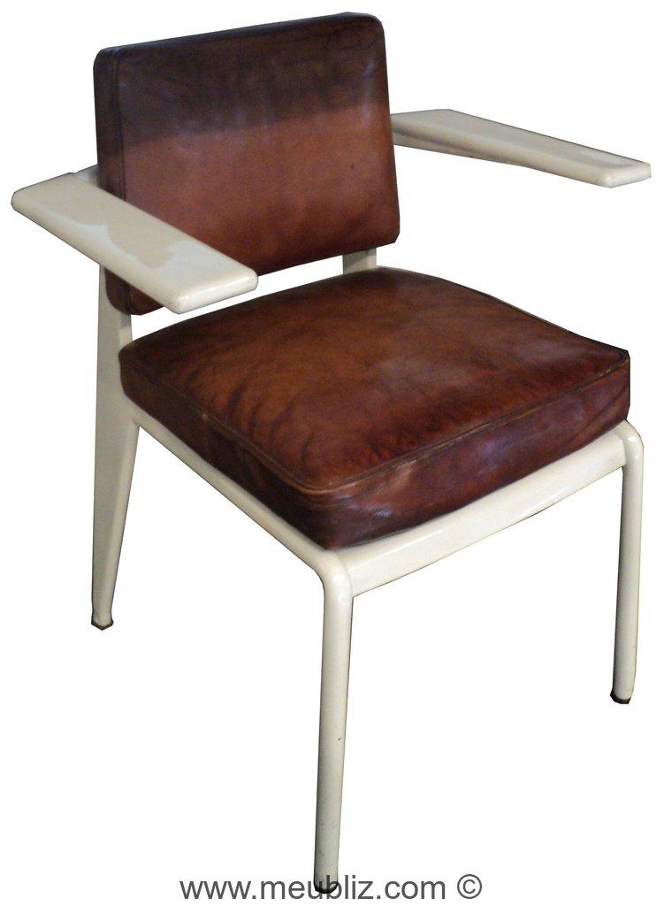 fauteuil c p d e compagnie parisienne de distribution d 39 lectricit par jean prouv. Black Bedroom Furniture Sets. Home Design Ideas
