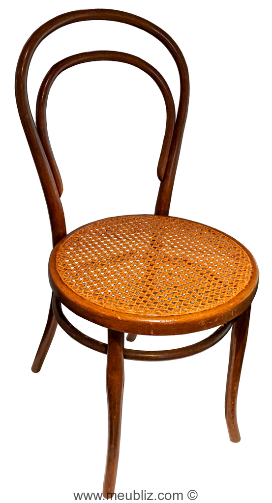 Chaise Thonet N14 A Assise Cannee 1859 1860