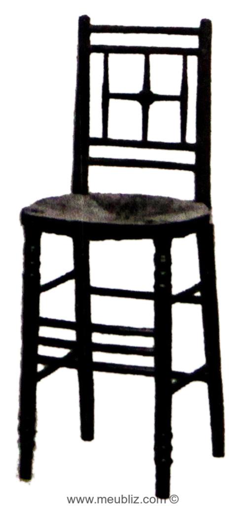 chaise haute sussex meuble design. Black Bedroom Furniture Sets. Home Design Ideas